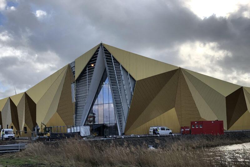 Voortgang bouw nieuw onderkomen KNM Houten