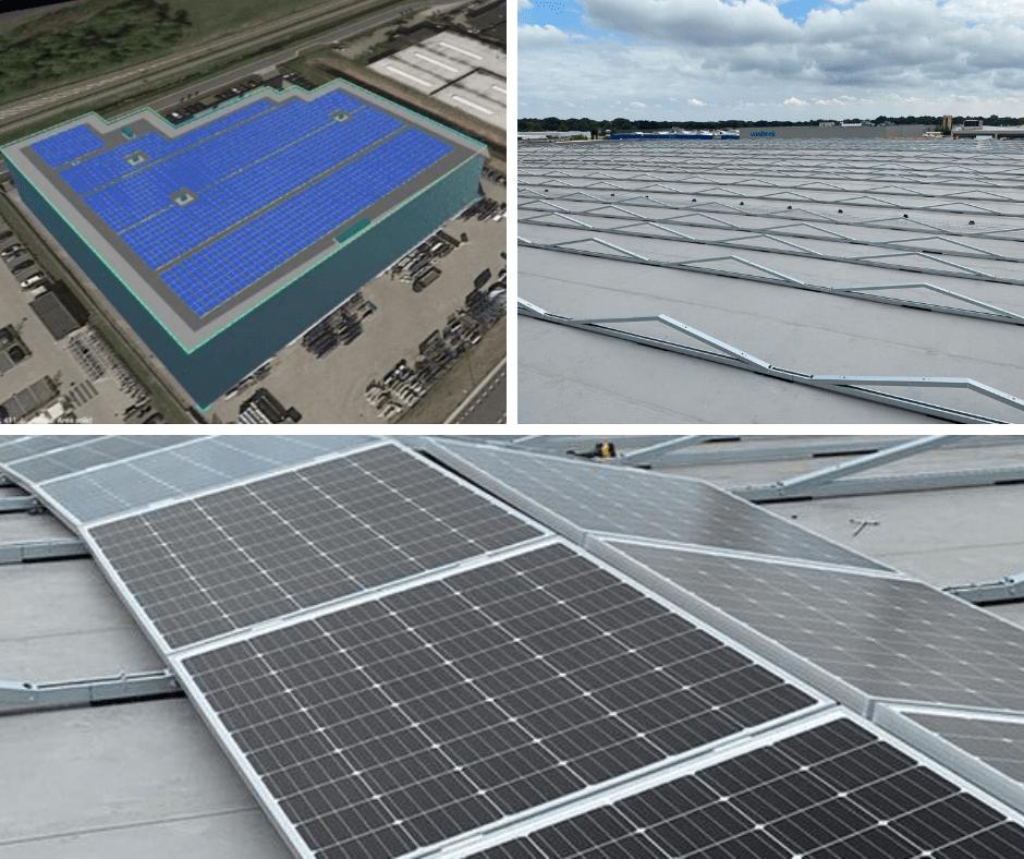 Aanleg zonnepark JM van Delft & zn