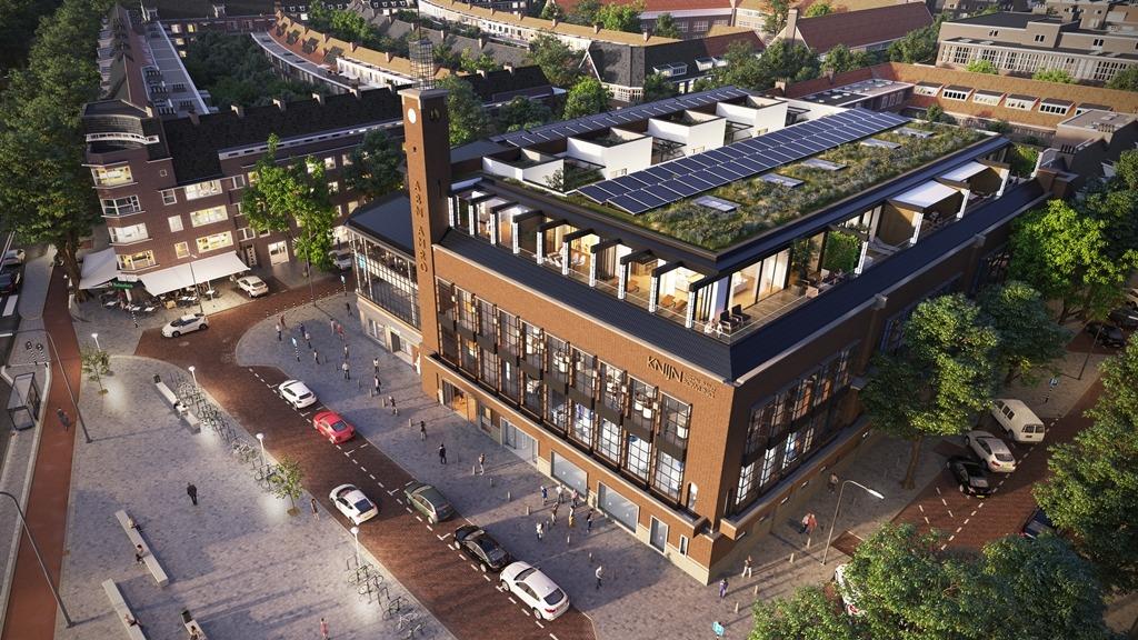 Scheldeplein 1-5 Amsterdam (Ontwerp en © artist impressions: Dok Architecten)