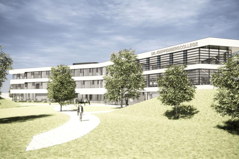 Dr. Knippenberg College Helmond © Artist Impressions: RoosRos Architecten