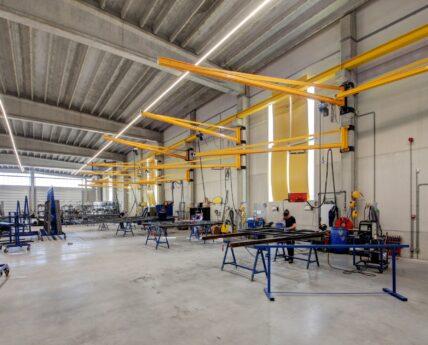 Productie locatie staal